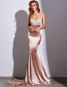 Spaghetti Straps Simple Sexy Lace Formal Mermaid Prom Dresses, Party Dresses, New Fashion,Custom Made Mermaid Prom Dresses, Prom Party Dresses, Formal Evening Dresses, Evening Gowns, Wedding Dresses, Satin Dresses, Sexy Dresses, Lace Dress, Nude Prom Dresses