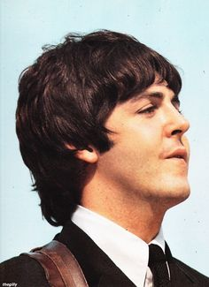 Paul McCartney.  We were just meant to be.