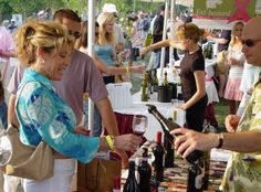 """Naperville Wine Festival (pictured) for wine and Oktoberfest for beer"" - @WindyCityBdr"