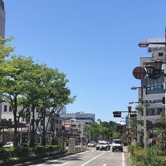 今日もほんとにいい天気です #彦根  #駅前 #天気よすぎ  #陽気  #世界には愛しかない  #世界平和  #鯉沼隼也