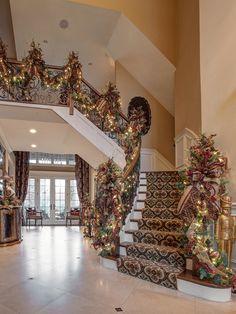 Christmas Design idea for Staircase