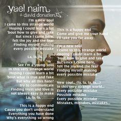 lyrics yael meyer favorite