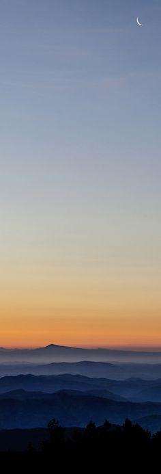 L'aube à l'Aigoual