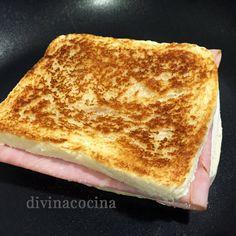 Este sándwich tostado es un clásico de las cenas o meriendas rápidas, es fácil de preparar y puede hacerse al horno o en sartén.