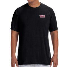 Campus Classics - New! Teke Black Jersey Knit Performance Tee: $21.95