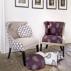 We are proud to supply beautiful Olivia Bard fabric. Juliet Soft Furnishings. www.julietsoftfurnishings.co.uk #Northumberland #Interiors #Stocksfield