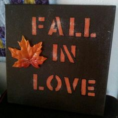 For my fall decor