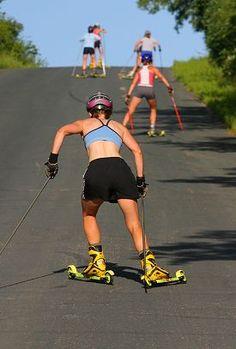 61a15d48f3ac53 12 meilleures images du tableau Ski à roulettes   Roller skis ...