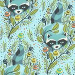 Tula Pink Raccoon fabric!!!