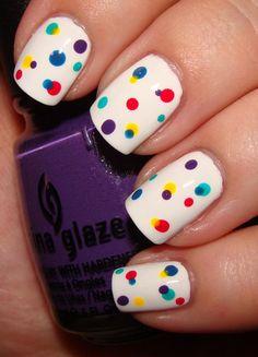 Beautiful Photo Nail Art: 47 Awesome SummerNail Polish Color Design Ideas