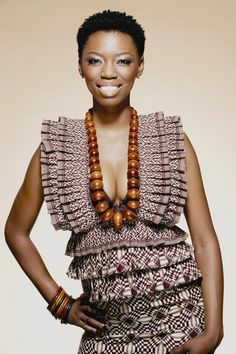 Its African inspired. African Attire, African Wear, African Women, African Dress, African Models, African Style, African Beauty, African Inspired Fashion, African Print Fashion