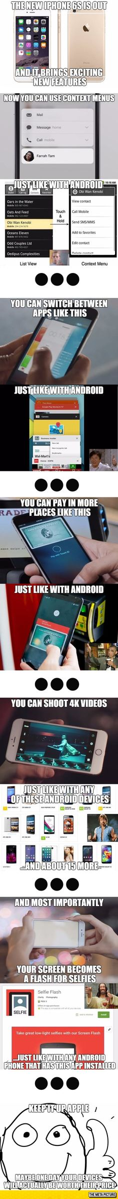 Apple. All they do is copy. Android is WAYYY better.