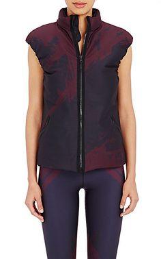 Ultracor Abstraction-Print Padded Vest - Vests - Barneys.com