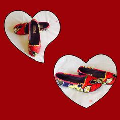 African print pumps at www.afrokulcha.com Flip Flops, African, Pumps, Shoes, Women, Fashion, Choux Pastry, Moda, Shoes Outlet