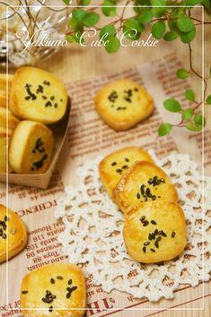 ステラおばさん風☆焼き芋キューブクッキー