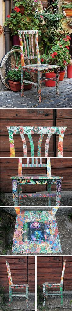 Gipsy Alice in wonderland theme chairs