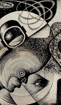 illustration for galaksija. Art Gallery, Psychedelic Art, Surreal Art, Illustration, Art Drawings, Abstract Artwork, Art, Dark Art, Prints
