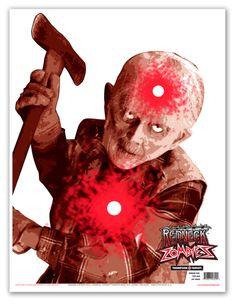 "Ax Man 19""X25"" Zombie Targets (5 Pack) | Armor Tech Defense Ltd."