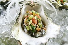 http://www.thetasteoforegon.com/2010/07/oysters-with-cilantro-and-cucumber-salsa/