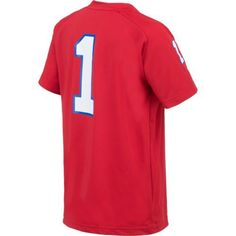Gen2 Boys' Louisiana Tech University Football Jersey Performance T-shirt (Red, Size Small) - NCAA Licensed Product, NCAA Youth Apparel at Academy S...