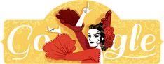 93η επέτειος γέννησης της Λόλα Φλόρες