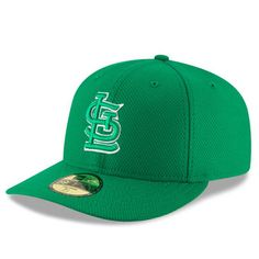 05f6561d1 Men s St. Louis Cardinals New Era Green St. Patrick s Day Diamond Era Low  Profile