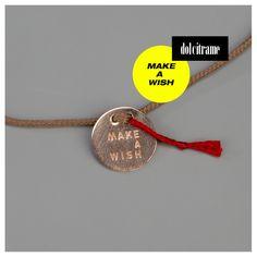 Make a wish and put a bracelet on it. #vanrycke #bracelet #gold #wish #jewelry #jewellery #simple #beautiful #farfetch #womens #womenswear #dolcitrame #dolcitrameshop