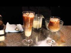 How to Make Thai Iced Coffee - video Thai Iced Coffee, Irish Coffee, Coffee Drinks, Caramel Flan, Espresso And Cream, Biggby Coffee, Coffee Coupons, Best Beans, Sugar Cravings