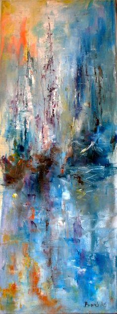Konrad Biro art oil canvas