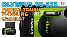 Olympus Stylus Tough TG-870 Camera Unboxing & First Look #Olympus
