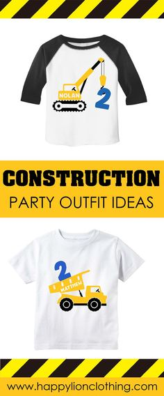 NEW Dinotrux Trux It Up Personaliz​ed Birthday Party Favor Gift T-Shirt