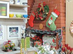 A tradição natalina do jeito que nossos antepassados   faziam. Era o espaço decorado para a ceia que nos remete a um resgate dos antigos costumes em família. Decoração: Heda Seffrin Fotografia: Simone Seffrin