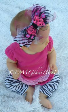 OMG that ROCKstar Prima BOW by OMGthatBOW on Etsy, $15.00