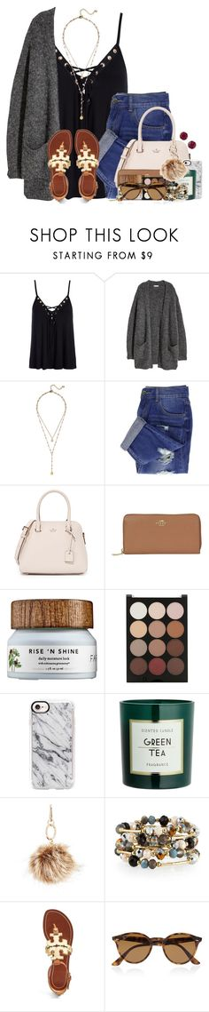 """""""Is anyone going Black Friday shopping??"""" by auburnlady ❤ liked on Polyvore featuring Sans Souci, BaubleBar, Kate Spade, Coach, Sephora Collection, Forever 21, Casetify, GUESS, Emily & Ashley and Tory Burch"""