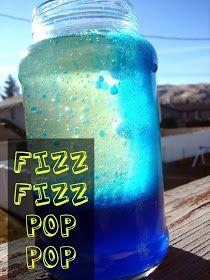 Lava lamp experiment - A girl and a glue gun: mason jars...for kids!
