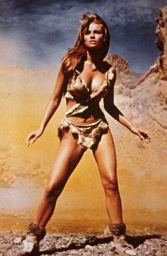 Raquel Welch poster from One Million Years B.C. 1966 which held a very deep secret.