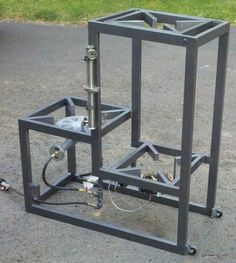 3 tier homebrew system with pump | ... brewing stand is getting so close i can almost taste the home brew