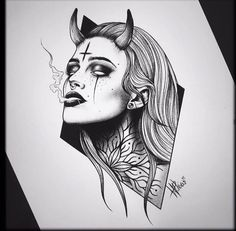 by Hayley Ploos Worthing UK Send yours to flash addicted su art artist artsupport artwo - Creepy Drawings, Dark Art Drawings, Tattoo Design Drawings, Pencil Art Drawings, Art Drawings Sketches, Tattoo Sketches, Cool Drawings, Tattoo Designs, Dark Art Tattoo