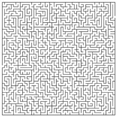 Printable Coloring Pages For Kids Printable Mazes For Adults Difficult 001 Maze Games For Kids, Mazes For Kids, Spy Games, Printable Mazes, Printable Coloring Pages, Printables, Truck Coloring Pages, Coloring Pages For Kids, Labrynth Quilt Pattern