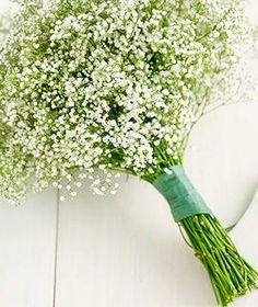 How to turn baby's breath flowers from the supermarket into a wow-worthy bouquet.
