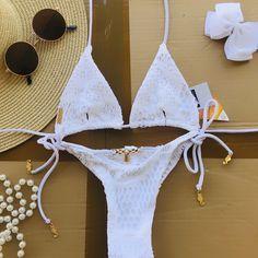 Crochet Bikini, Beachwear, Beach Playsuit, Beach Outfits, Beach Clothes
