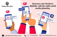 You can increase your business multiple times, With the right planning & right implementation of social media❤️😀👍. Content Marketing, Online Marketing, Digital Marketing, Mobile App Development Companies, Software Development, Marketing Consultant, Social Media Influencer, Internet, Times