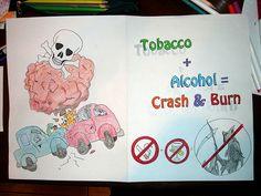 Science - Anti Drugs Poster by Guzhenn, via Flickr