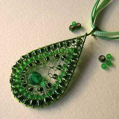 eva55 / Lúčna zeleň - náhrdelník