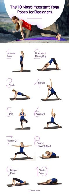 10 Yoga Poses for Beginners | Posted By: NewHowToLoseBellyFat.com