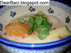 Dear Baci: Coconut Soup with Chicken (Tom Kha Gai)