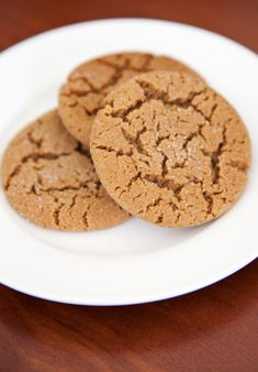 Ginger Cookie Recipe ... I always served these with a cup of hot cider at my Longaberger Basket open houses. Happy memories.