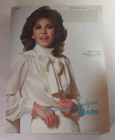 ears Fall Winter Catalog 1985 Stephanie Powers Cover