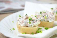 Ham and horseradish spread - recipe Vegan Avocado Recipes, Whole30 Recipes Lunch, Snack Recipes, Dessert Recipes, 5 Ingredient Crockpot Recipes, Easy Meat Recipes, Mexican Food Recipes, Ham Recipes, Dessert Simple