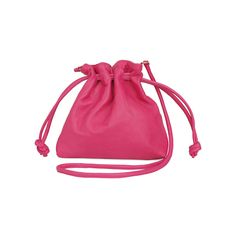 Inspired by one of the very first CV designs, the iPhone Pouch, the Fuchsia Nappa Petit Henri lends a subtle update to the Drawstring Pouch. With the added opti Clare Vivier, Drawstring Pouch, Fashion Bags, Bucket Bag, Shopping Bag, Style Inspiration, Backpacks, Stylish, Accessories